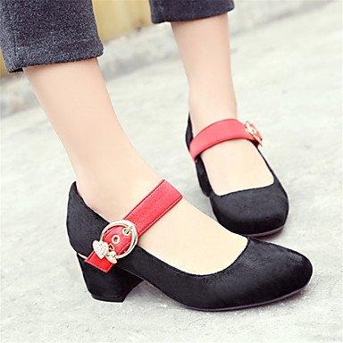 de las mujeres sandalias Primavera Verano Otoño los zapatos del club del brillo personalizada Materiales oficina y carrera boda de tacón de aguja casual Plata Oro Black