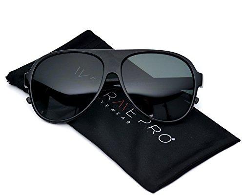 Large Oversized Classic Retro Plastic Aviator - Aviator Sunglasses Size Chart