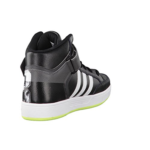 adidas Originals Varial Mid - Zapatillas unisex Black/White/Solar Yellow