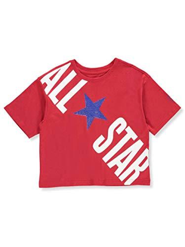 - Converse Girls' T-Shirt - red, 16
