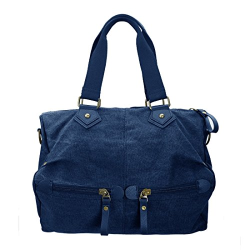 BMC Womens Navy Blue Durable Canvas Material Double for sale  Delivered anywhere in USA