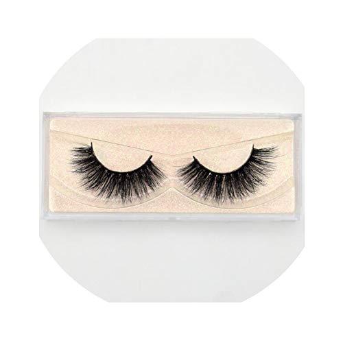 Mink Eyelashes 100% Cruelty Free Handmade 3D Mink Lashes Full Strip Lashes Soft False Eyelashes,E03 -