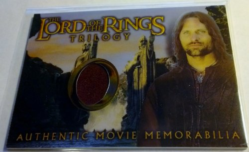 Lord of the Rings Trilogy Authentic Movie Memorabilia Cards Aragorn's House of Healing (Arwen Outfits)