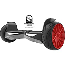 """Gyrocopters all terrain PREMIER Hoverboard UL2272 certified with Bluetooth speaker. 2017 model and auto self balance software. 9"""" wheel with alloy wheels"""