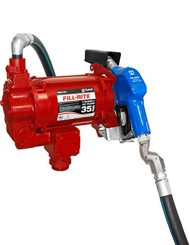 Fill-Rite FR310VARC 115/230V 35 GPM Fuel Transfer Pump with Arctic Package ()