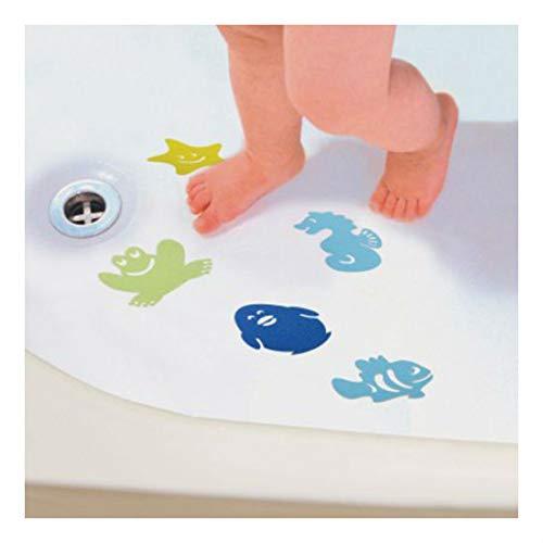 10 Bath Kids Safety Appliques - Anti-Slip Tub Shower Textured Sticker by Unknown