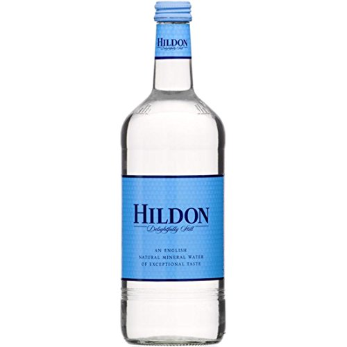 Hildon Naturally Pure Still (Non-Sparkling) Mineral Water, 25.3 fl oz (12 Glass Bottles) (Best Bottled Water To Drink Uk)