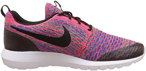 Nike-Mens-Roshe-NM-Flyknit-SE-Brght-CrmsnBlkGrn-StrkGm-Ry-Running-Shoe-10-Men-US-115-Women-US