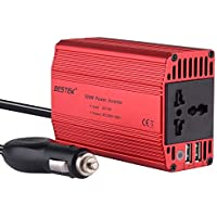BESTEK 300W Power Inverter DC 12V to 220V AC Car Inverter
