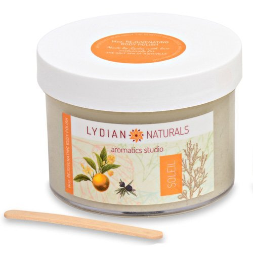 REJUVENATING BODY POLISH With pure essential oils and HIMALAYAN SALT by Lydian Naturals Aromatics Studio