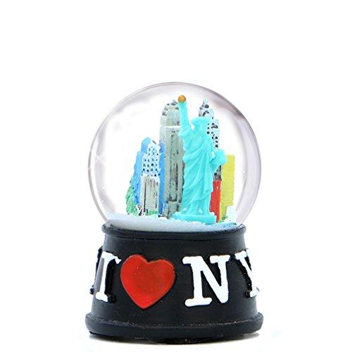 City Merchandise I Love New York Skyline Snow Globe