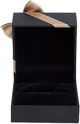 Hoveey Estuche Joyero Pequeño, Mini Caja Almacenamiento Portable para Joyería, Organizador de Viaje de Joyas para Collares Pendientes Aretes Pulseras Anillos: Amazon.es: Joyería