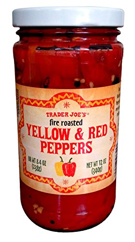 Trader Joe's Fire Roasted Yellow and Red Peppers
