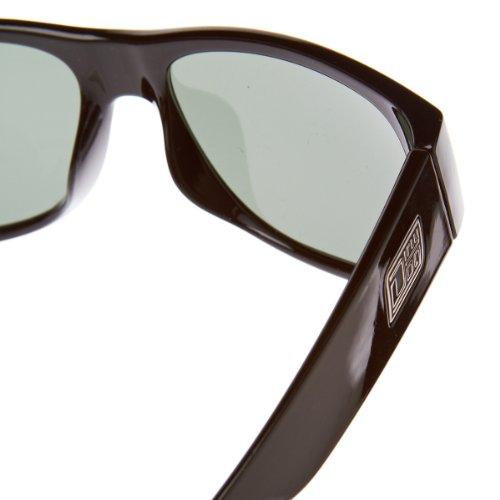 Dirty Dog 53094 Noir Shovel Rectangle Sunglasses Polarised