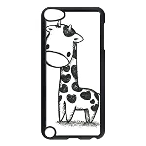 Giraffe Personalized 2D Phone Case for Ipod Touch 5 at DLLPhoneCase ( DLL470978 )