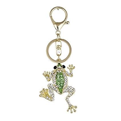 KDHWM-Gift Love Keychain Metal Key Ring Insert The Drill The Frog Creativity 439f1ae4b