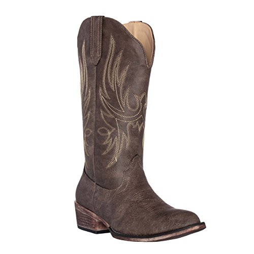 Silver Brown Canyon Cowgirl Toe Western Boot by Pointed Women's Cowboy Dallas wRU8FZnq1