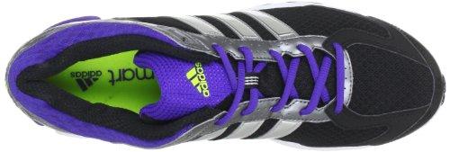 Explosion Violet De Chaussures Adidas De Femmes Performance Noir Nova Duramo Métallique Course Argent n71PZWx