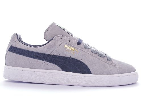 Puma Women's Suede Trainers Grey/Navy/White/Gold jBDimc