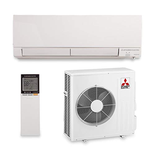Mitsubishi MZ-FH15NA - 15,000 BTU 22 SEER Hyper Heat Wall Mount Ductless Mini Split Air Conditioner Heat Pump 208-230V