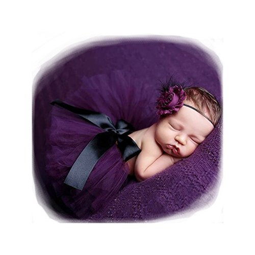 fashion-luxury-unisex-newborn-girl-baby-outfits-photography-props-headdress-tutu-skirt-purple