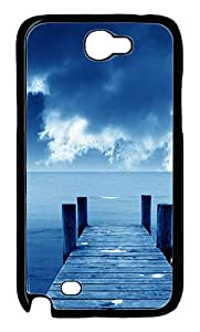 Natural 80 Polycarbonate Hard Case Cover for Samsung Galaxy Note II N7100¨CBlack