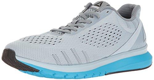 Reebok Men's Print Smooth ULTK Running Shoe, Gable Grey/Asteroid Dust/Black/Caribbean Teal, 8.5 M US