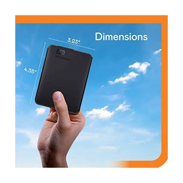 WD 5TB Elements Portable, Hard Disk Esterno Portatile, USB 3.0 2 spesavip