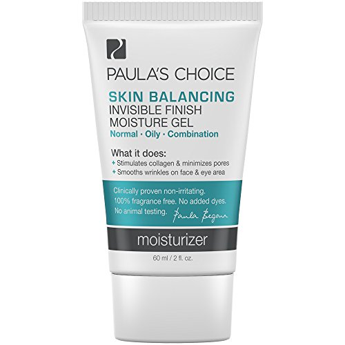 Paula's Choice-SKIN BALANCING Invisible Finish Moisture Gel Moisturizer with Antioxidants and Niacinamide-Face Moisturizer for Oily Skin-1-2oz. Tube Vital Antioxidant Moisturizer