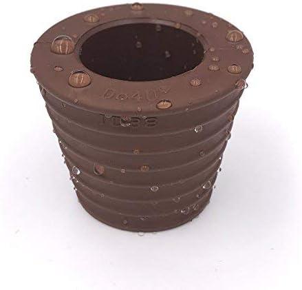 Do4U - Cono para soporte de sombrilla. Cuña para enganchar sombrillas en soportes, bases y mesas de patio con orificio, marrón: Amazon.es: Jardín