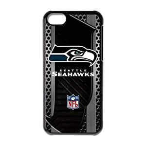 WY-Supplier Funny Fshion Cool NFL Seattle Seahawks Protector Case for iphone 5c - Seattle Seahawks iphone 5c phone case