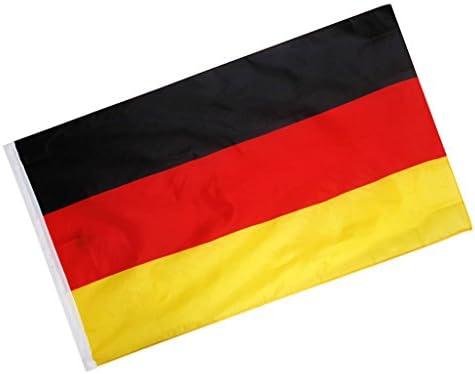 【ノーブランド品】ドイツ 国旗 手旗 手回し旗 大きな旗 祭り パーティー 庭 装飾 イベント
