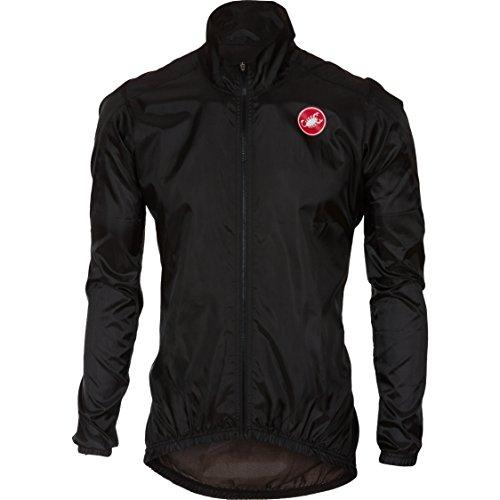 Castelli Squadra ER Jacket - Men's Black, (Castelli Cycling Jacket)