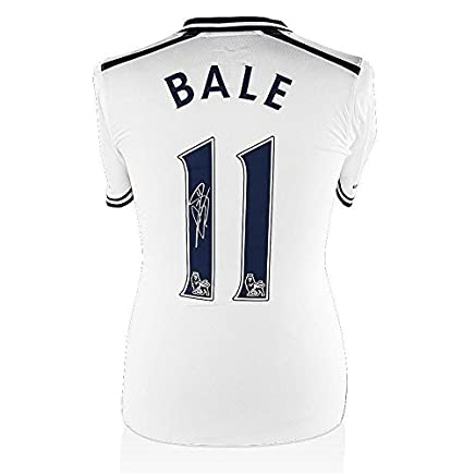 the latest 9d70b 408a5 Gareth Bale Signed Jersey - Shirt 2013 2014 - Autographed ...