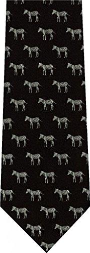 Zebra Animal New Novelty Necktie (New Animal Novelty Tie)