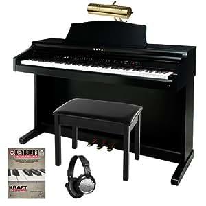 kawai ce220 digital piano complete home bundle 4 items musical instruments. Black Bedroom Furniture Sets. Home Design Ideas