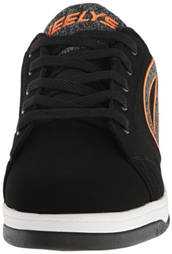 2 Orange Heelys Grey Sneakers 0 770843M Propel Black Mens q4xwTnUt