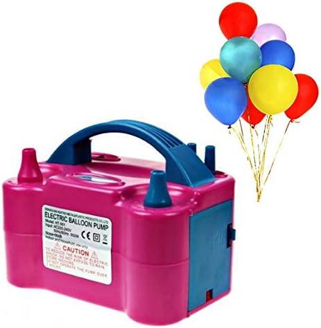 XLKJ /Électrique Gonfleur Ballon 600W,Pompe Ballon /électrique Pompe de Gonflage Deux Buses dair du Ventilateur Portable