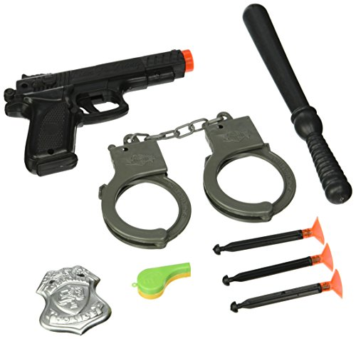 Police Action Playset Toy -