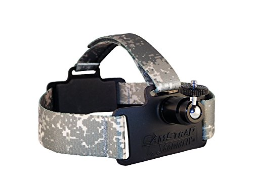 Solvid CamStrap Pro Universal Head Cam Mount (Digi Camo) - Metal Compact Camcorders