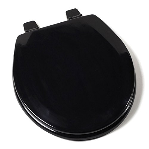 Classy Deluxe Durable Molded Wood Core With Rock Hard Enamel Toilet Seat Adjustable Hinges Perfect Bowl Fit For All Standard Size Fixtures Great For Your Home - Auckland Airport Shops Near