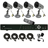 CIB K808AV500G8653-4 8CH Network Security Surveillance KIT w/ Four CCD Camera…, Best Gadgets