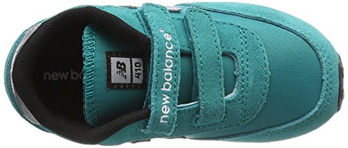 New Balance KE410 Kids Lifestyle Velcro - Zapatillas de deporte para bebés niñas Teal/Grey