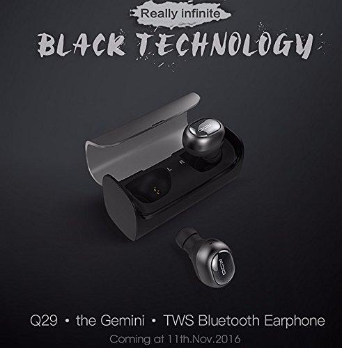 QCY Q29 Mini Bluetooth auriculares auriculares TWS True Auriculares inalámbricos música estéreo auriculares headsfree con micrófono para teléfonos ...