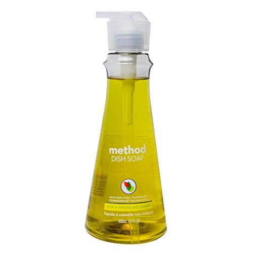 - Method Dish Soap, Lemon Mint, 18 Ounce