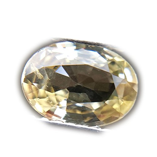 1.05ct Natural Oval Normal Heated Yellow Sapphire Sri-Lanka ()