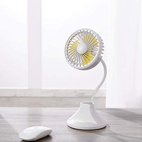 JiaMeng Ventilador Clip de luz LED en el Ventilador Mini Soporte ...
