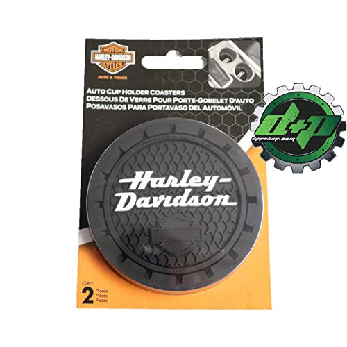 Harley-Davidson H-D Stacked Name with B&S Auto Coaster - Universal ()