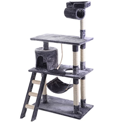 56-inch-cat-tree-tower-condo-scratch-post-pet-house-bed-scratchier-gray