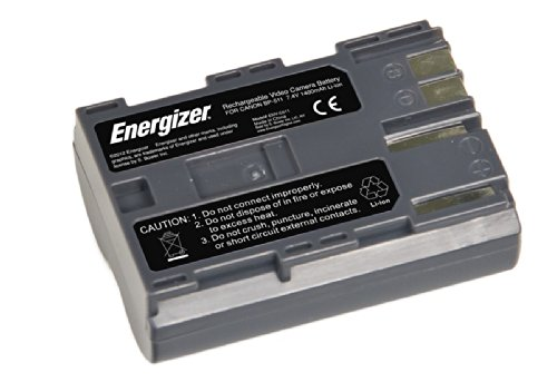 Energizer ENV-C511 Digital Replacement Video Battery for Canon BP-511 (Black)